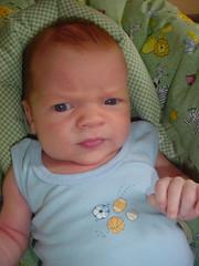 Artyom at three weeks