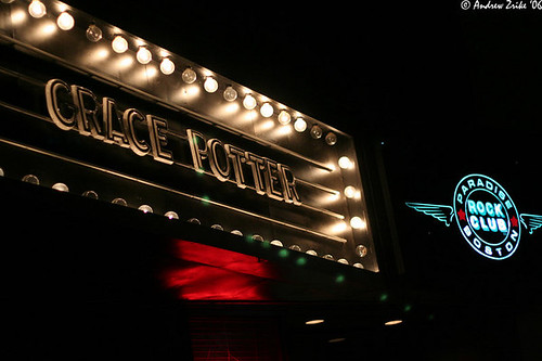 Grace Potter marquee