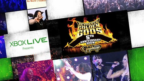 Golden Gods Awards Show Live on Xbox LIVE