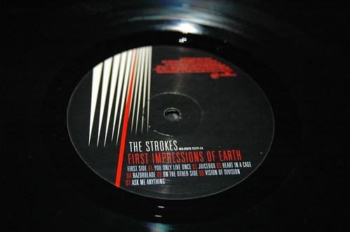 El vinilo de los Strokes