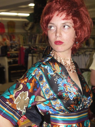 Kestrin at her birtday party at Clothes Contact in 2006