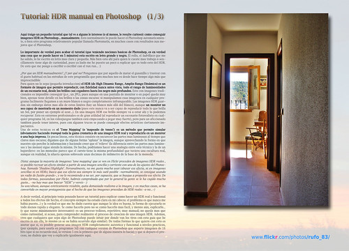 Tutorial pseudo-HDR Manual en Photoshop (1)