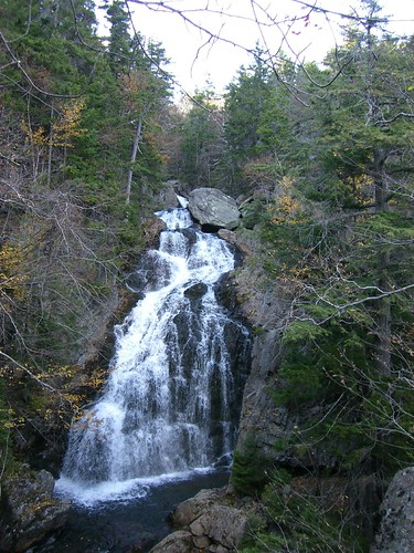 Waterfall off the Tuckerman Ravine Trail