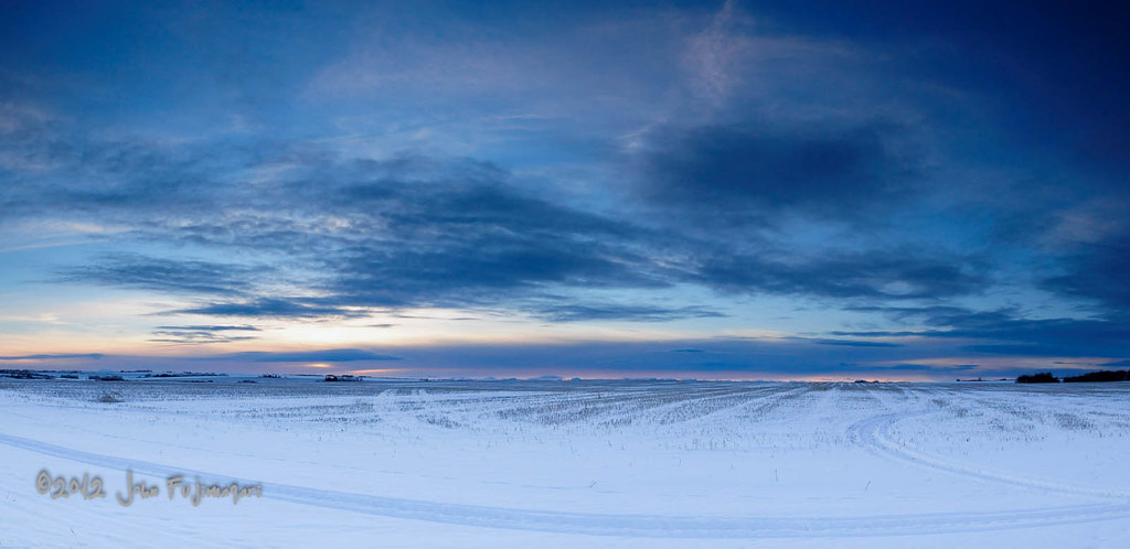 Prairie Winter Pano