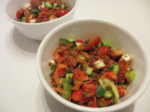Lentil & Farrow Salad