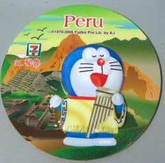 doraemon magnet- Peru