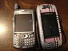 Sidekick II vs Treo650