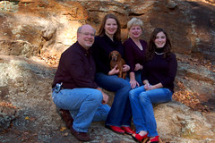 Stephen, Lauren, Cynthia, and Kelsey