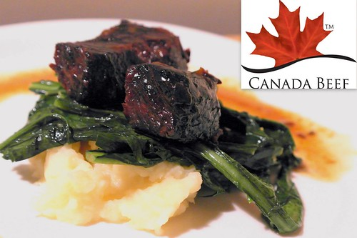 Honey-Braised Short Ribs with Parsnips and Dandelion