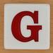Appletters Letter G