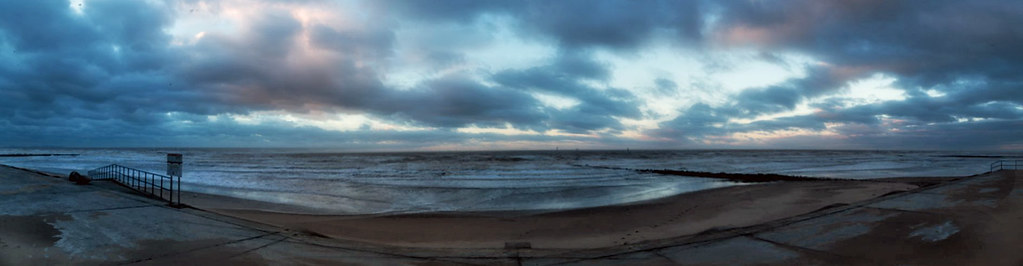Prestatyn Beach Panorama