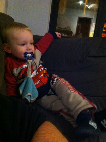 Alexander kijkt TV