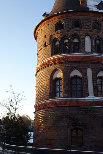 Holstentor i Lübeck