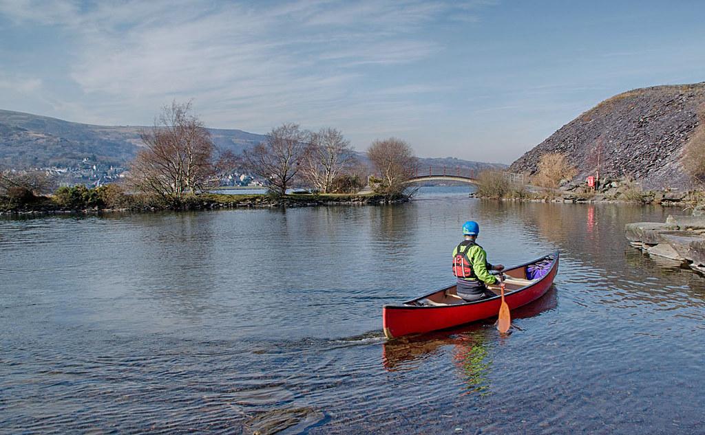 Canoe On Llyn Padarn