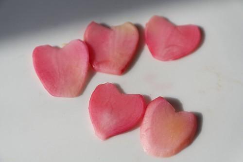 Radish Hearts