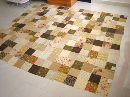 patchworks blanket - WIP 2