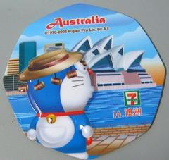 doraemon magnet- Australia