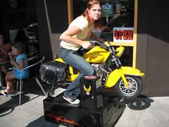 Ridin' my Harley