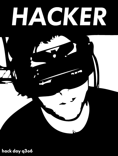 Hacker by Leonard Lin