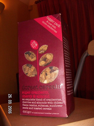 Cool cereal packaging
