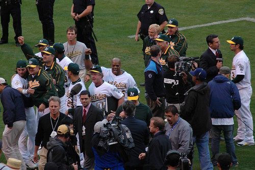 Oakland A's - on the the ALCS