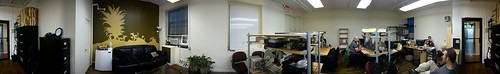 Panorama of CoworkingNYC