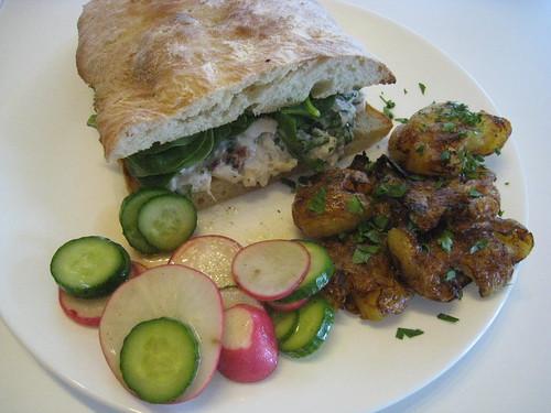 Mediterranean Whitefish Sandwich