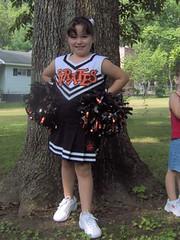 Gracie the Cheerleader