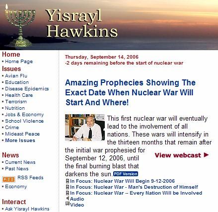 Hawkins Website