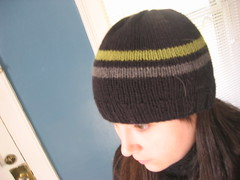 Merino Stripe Hat