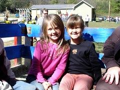 Stinkerbell and BFCC on hayride