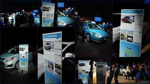 Ford Blue Cars