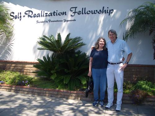 Marcia and Bill at chapel