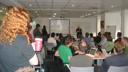 BarCampLondon starting session