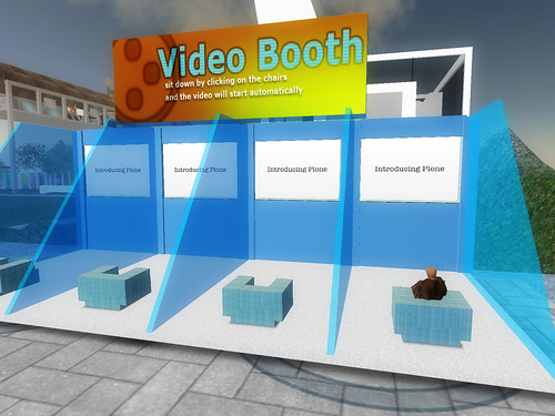 Video Booths at the Plone Conference Area