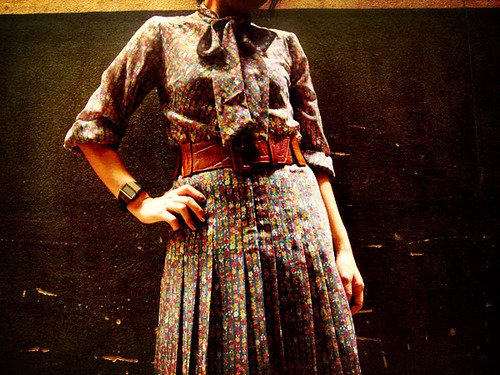 Tuesday 80's Dress
