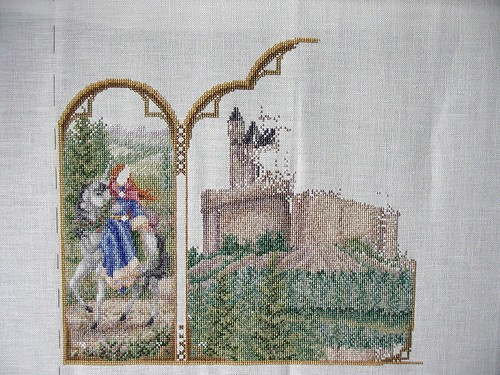 Fantasy Triptych - September 2006 Progress