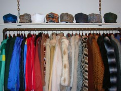 kdon hats and vintgae coats at discollection