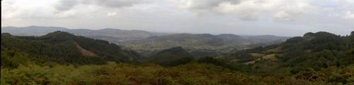 Una vista panorámica desde el área recreativa de Niao