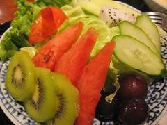 garden salad at azabu sabo