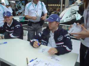 2006上海F1:Nick & Kubica