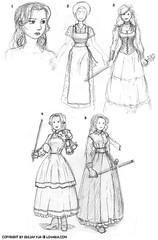 Dresses Study