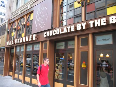 Nyc Dining Max Brenner Off The Broiler