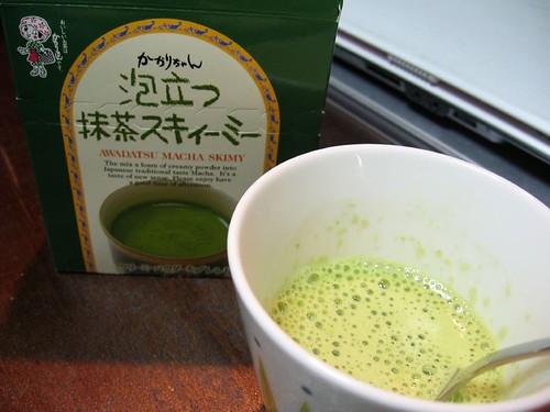macha green tea