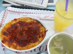 茄汁牛肉焗烤飯