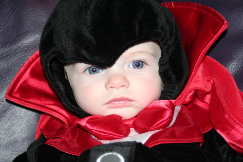 My evil Dracula look