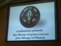 Ben Barren & John Allsopp