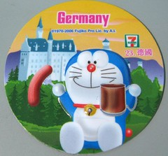 doraemon magnet- Germany
