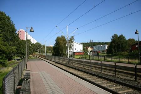 Kvibergs Tramstop - 1