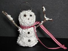 Sammie Snowmen Ornament -Front